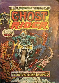Cover Thumbnail for Ghost Rider (Yaffa / Page, 1977 series) #7