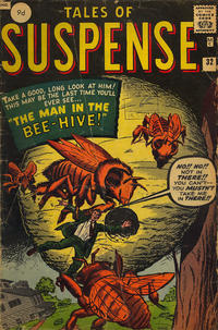 Cover Thumbnail for Tales of Suspense (Marvel, 1959 series) #32 [British]