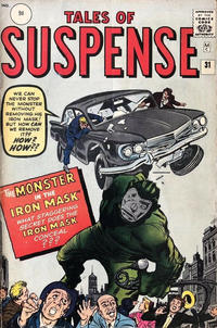 Cover Thumbnail for Tales of Suspense (Marvel, 1959 series) #31 [British]