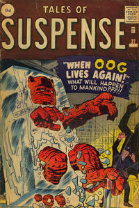 Cover for Tales of Suspense (Marvel, 1959 series) #27