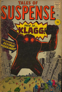 Cover Thumbnail for Tales of Suspense (Marvel, 1959 series) #21 [British]
