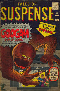 Cover Thumbnail for Tales of Suspense (Marvel, 1959 series) #17 [British]