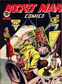 Cover Thumbnail for Rocket Man Comics (Rucker Publications Ltd., 1946 series) #v2#1