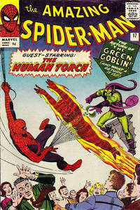 Cover Thumbnail for The Amazing Spider-Man (Marvel, 1963 series) #17 [British Price Variant]