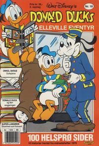 Cover Thumbnail for Donald Ducks Elleville Eventyr (Hjemmet / Egmont, 1986 series) #18 [Reutsendelse]