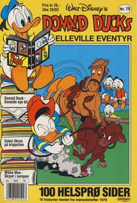 Cover Thumbnail for Donald Ducks Elleville Eventyr (Hjemmet / Egmont, 1986 series) #19