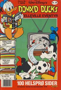 Cover Thumbnail for Donald Ducks Elleville Eventyr (Hjemmet / Egmont, 1986 series) #20 [Reutsendelse]