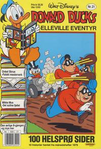 Cover Thumbnail for Donald Ducks Elleville Eventyr (Hjemmet / Egmont, 1986 series) #21
