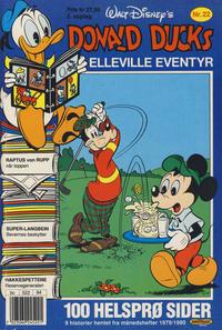 Cover Thumbnail for Donald Ducks Elleville Eventyr (Hjemmet / Egmont, 1986 series) #22 [Reutsendelse]