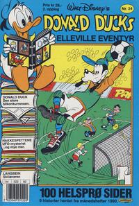 Cover Thumbnail for Donald Ducks Elleville Eventyr (Hjemmet / Egmont, 1986 series) #24 [Reutsendelse]
