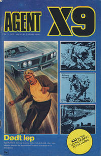 Cover Thumbnail for Agent X9 (Nordisk Forlag, 1974 series) #3/1975