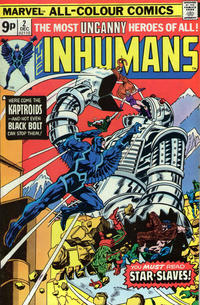 Cover Thumbnail for The Inhumans (Marvel, 1975 series) #2 [British]