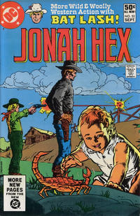 Cover Thumbnail for Jonah Hex (DC, 1977 series) #52 [Direct]