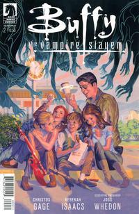 Cover Thumbnail for Buffy the Vampire Slayer Season 10 (Dark Horse, 2014 series) #2 [Steve Morris Cover]