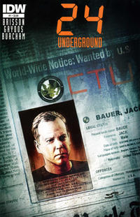 Cover Thumbnail for 24 (IDW, 2014 series) #1