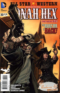 Cover Thumbnail for All Star Western (DC, 2011 series) #30
