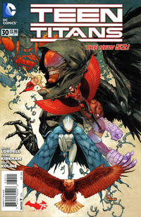 Cover Thumbnail for Teen Titans (DC, 2011 series) #30 [Direct Sales]