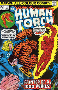 Cover Thumbnail for The Human Torch (Marvel, 1974 series) #8 [British]