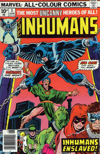 Cover Thumbnail for The Inhumans (Marvel, 1975 series) #5 [British]