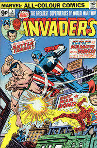 Cover Thumbnail for The Invaders (Marvel, 1975 series) #3 [British]