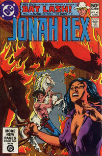 Cover Thumbnail for Jonah Hex (DC, 1977 series) #49 [Direct Sales Variant]