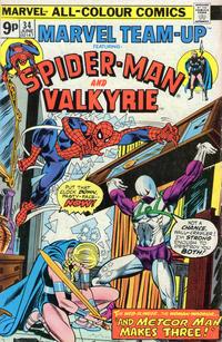 Cover Thumbnail for Marvel Team-Up (Marvel, 1972 series) #34 [British]