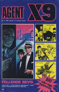 Cover Thumbnail for Agent X9 (Nordisk Forlag, 1974 series) #5/1975