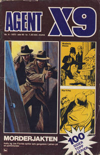 Cover Thumbnail for Agent X9 (Nordisk Forlag, 1974 series) #6/1975