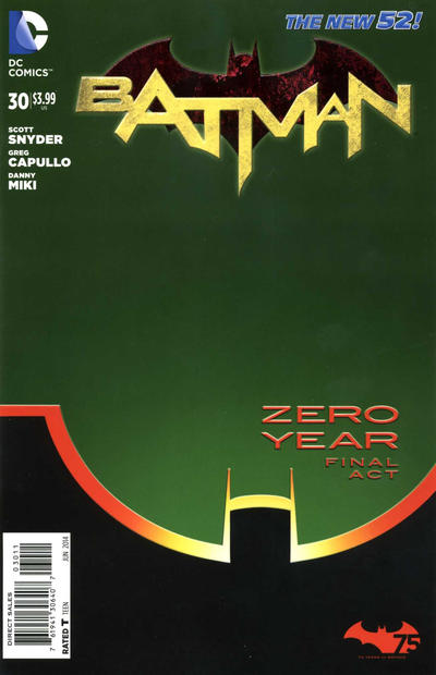 Cover for Batman (DC, 2011 series) #30 [Combo-Pack]
