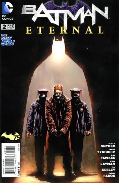 Cover for Batman Eternal (DC, 2014 series) #2