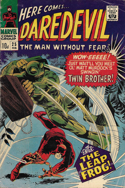Cover for Daredevil (Marvel, 1964 series) #25 [Regular Edition]