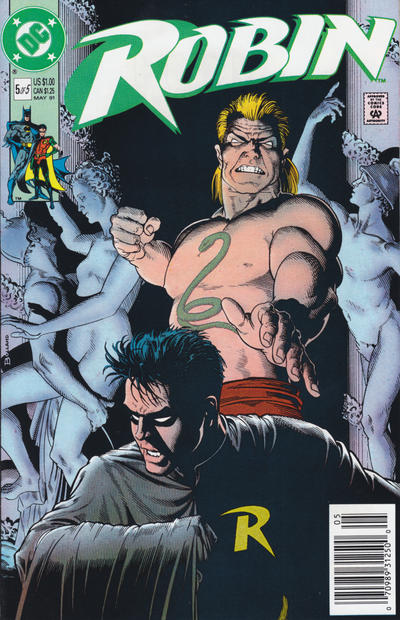Cover for Robin (DC, 1991 series) #5 [Direct Edition]