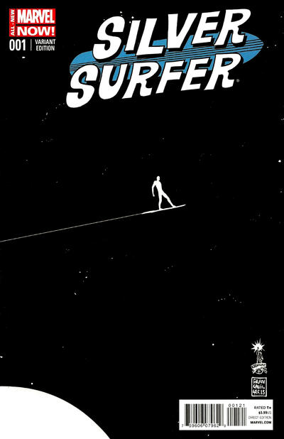 Cover for Silver Surfer (Marvel, 2014 series) #1