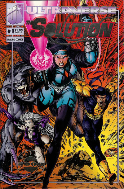 Cover for The Solution (Malibu, 1993 series) #1 [Direct Edition]
