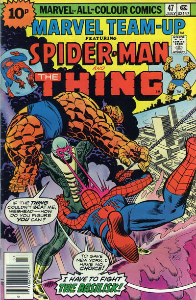 Cover for Marvel Team-Up (Marvel, 1972 series) #47