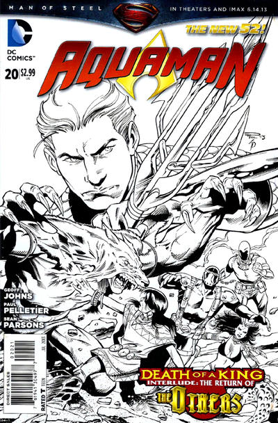 Cover for Aquaman (DC, 2011 series) #20