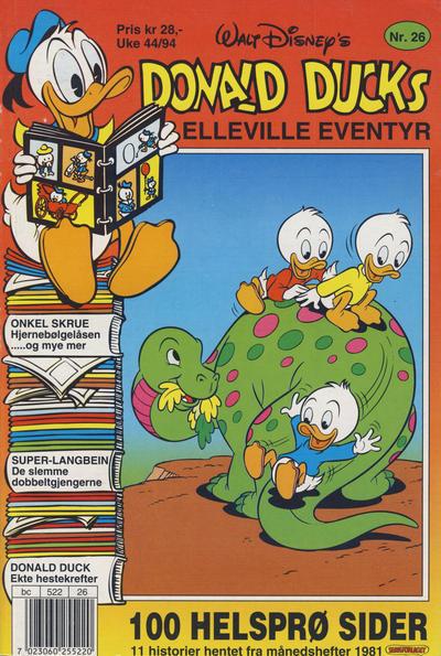 Cover for Donald Ducks Elleville Eventyr (Hjemmet / Egmont, 1986 series) #26