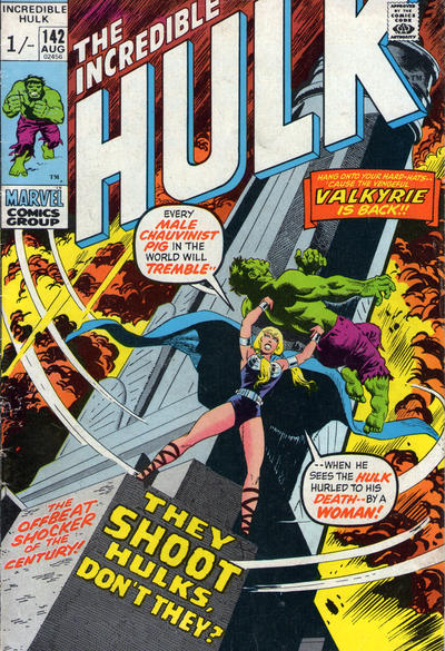 Cover for The Incredible Hulk (Marvel, 1968 series) #142
