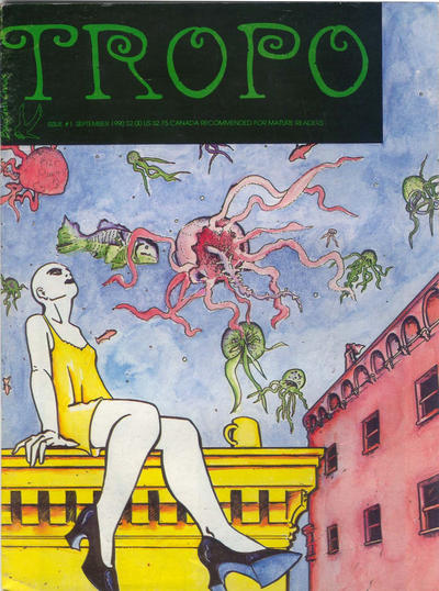 Cover for Tropo (Blackbird Comics, 1990 series) #1