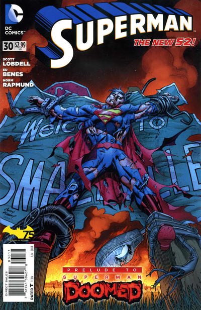 Cover for Superman (DC, 2011 series) #30 [Direct Sales]
