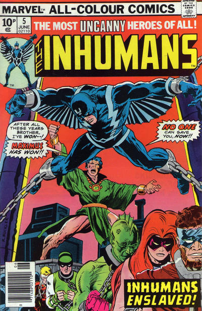 Cover for The Inhumans (Marvel, 1975 series) #5 [Regular Edition]