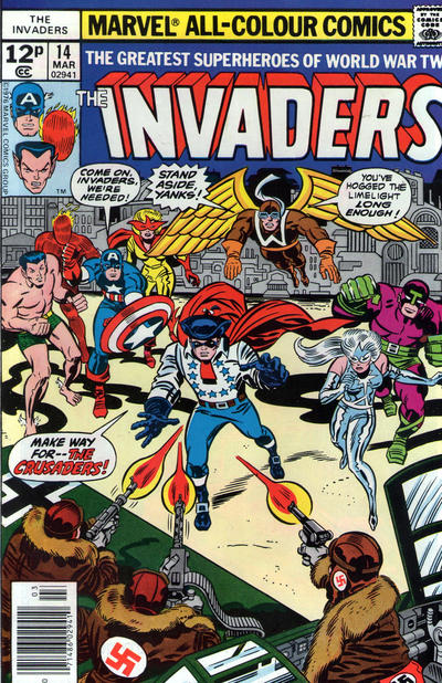 Cover for The Invaders (Marvel, 1975 series) #14 [Whitman]