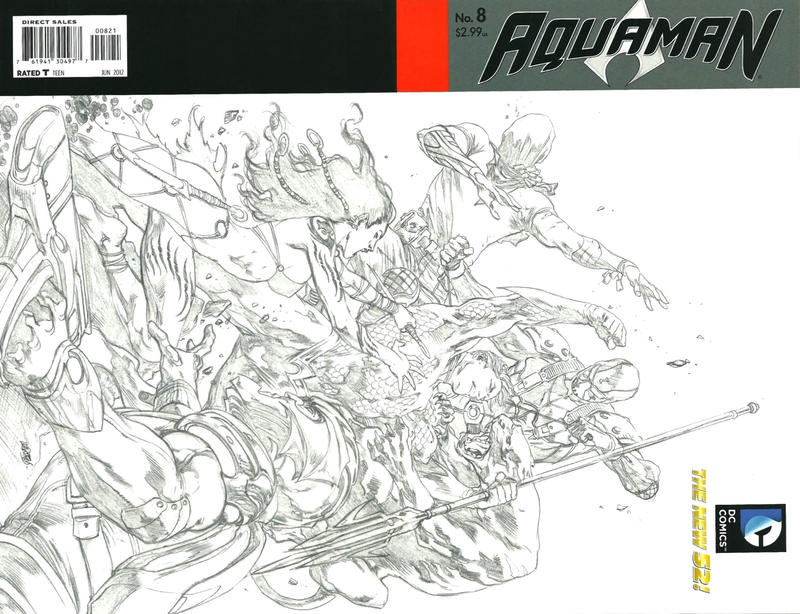Cover for Aquaman (DC, 2011 series) #8