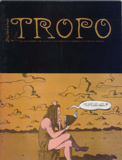 Cover for Tropo (Blackbird Comics, 1990 series) #5