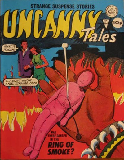 Cover for Uncanny Tales (Alan Class, 1963 series) #101