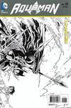 Cover for Aquaman (DC, 2011 series) #15 [Eddy Barrows Black & White Wraparound Variant]