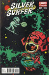Cover Thumbnail for Silver Surfer (2014 series) #1 [Skottie Young Marvel Babies Variant]