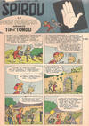 Cover for Spirou (Dupuis, 1947 series) #873