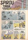 Cover for Spirou (Dupuis, 1947 series) #889