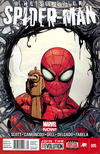 Cover for Superior Spider-Man (Marvel, 2013 series) #5 [Newsstand Edition]